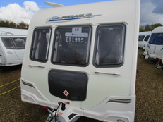 Bailey Pegasus 514 4 berth, (2011) Touring Caravan for Sale