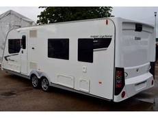 Elddis Crusader Super-Cyclone 4 berth, (2011) Touring Caravan for Sale