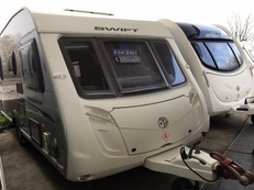 Swift Conqueror 540 4 berth, (2010) Touring Caravan for Sale