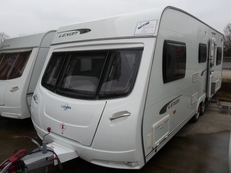 Lunar Lexon 640 6 berth, (2011) Touring Caravan for Sale